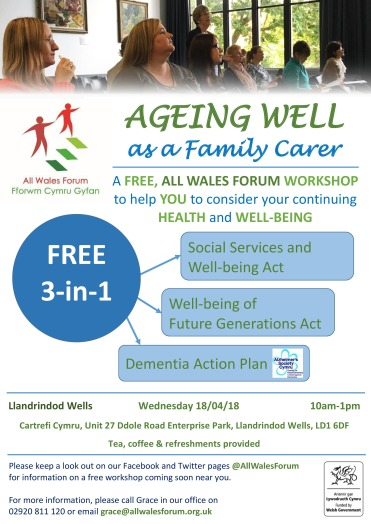 Ageing Well- Llandrindod Wells