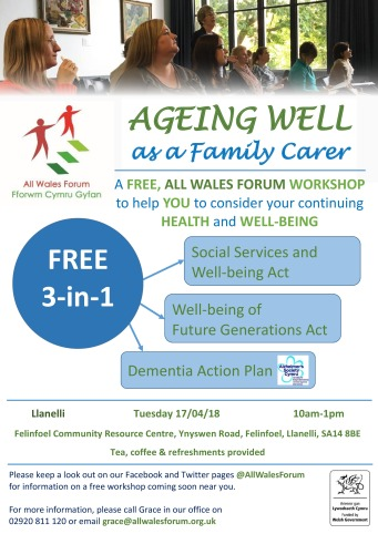 Ageing Well- Llanelli